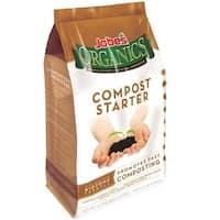 Jobe's 09926 Organic Compost Starter Granular Fertilizer, 4-4-2, 4 Lbs