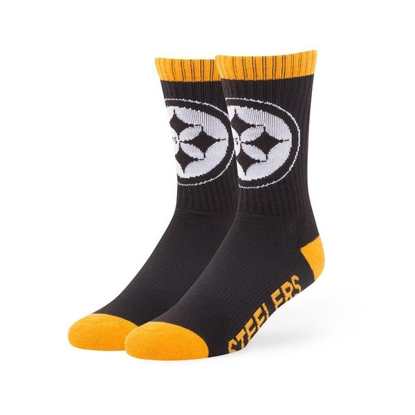 Pittsburgh Steelers Bolt Socks
