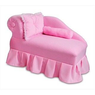 Fantasy Furniture HP01-8 Fantasy Furniture Princess Chaise Pink