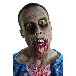 The Walking Dead Grim Grin Latex Prosthetic Costume Makeup - Red