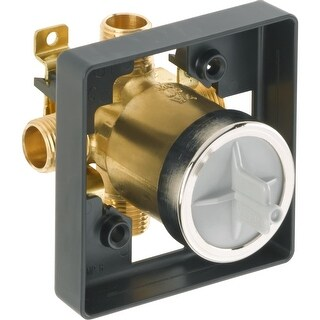 Delta R10000-UNBX Universal Mixing Rough-In Valve - For Use with All Delta Shower Mixing Valve Trims
