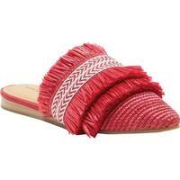 Lucky Brand Women's Baoss Woven Mule SB Red Synthetic