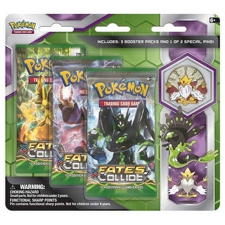 Pokemon: Mega Alakazam & Zygarde Pin 3-Pack - multi