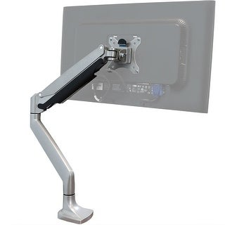 CASL Brands Single Monitor Desk Mount with Gas Spring Arm