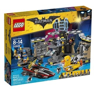 Lego The Batman Movie Batcave Break In Building Set 70909 - Multi