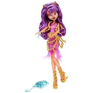 Monster High Haunted Getting Ghostly Clawdeen Wolf Doll