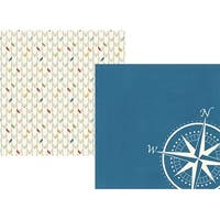 """Get Lost - Travel Notes Double-Sided Cardstock 12""""X12"""" (25/Pack)"""
