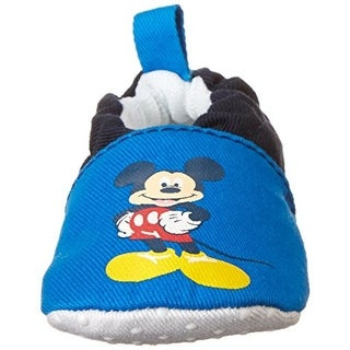 Disney Mickey Mouse Crib Shoes Infant Boys Colorblock - 0-6 mo
