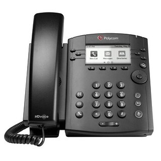 Polycom 2200-46161-019 Polycom Desktop Phone With HD Voice