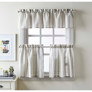 McKenzie Valance and Tier Pair Curtain Collection