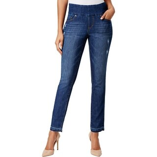 Jag Jeans Womens Nora Skinny Jeans Released Hem High Rise