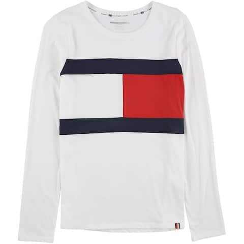 Tommy Hilfiger Womens Colorblock Basic T-Shirt