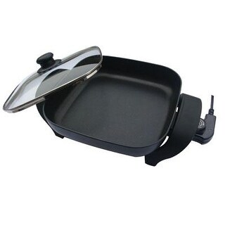 Nesco Es-08 8 Inch Electric Skillet - Deep Interior For Roasting Or Frying
