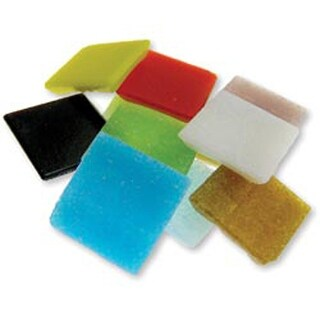 Assorted - Vitreous Glass Mosaic Tiles 2.5Lb