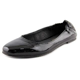 Donald J Pliner Boli Women  Round Toe Patent Leather Black Flats