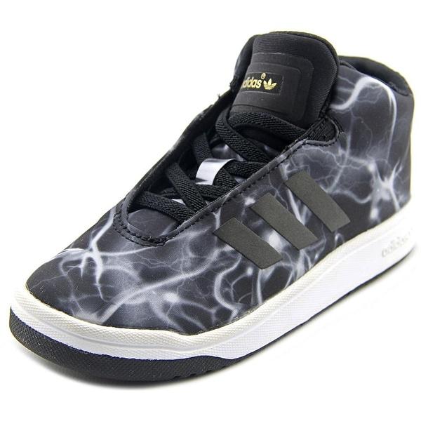 Adidas Mid Round Toe Canvas Shop Veritas Toddler Black Sneakers VLSUMzpjqG