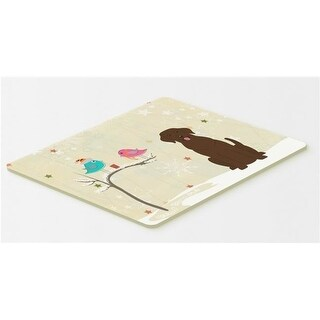 Carolines Treasures BB2528CMT Christmas Presents Between Friends Chocolate Labrador Kitchen or Bath Mat 20 x 30