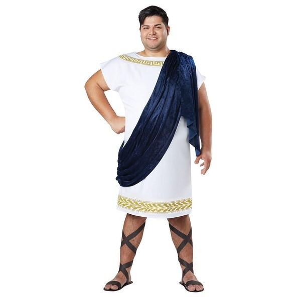 d3323b9b87e Shop Plus Size Men s Grecian Toga Costume