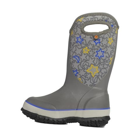 Bogs Outdoor Boots Girls Slushie Night Sky Pull On Waterproof