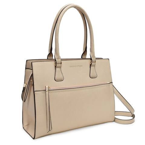 Adrienne Vittadini Terry Collection Large Zipper Tote