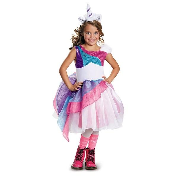 c0af0eebb9e53 Girls Unicorn Halloween Costume