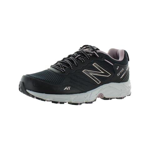 New Balance Womens 573v3 Trail Running Shoes All Terrain Hiking - Black/Lavender - 10 Medium (B,M)