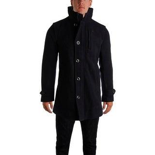 G Star Mens Wool Lined Coat - L