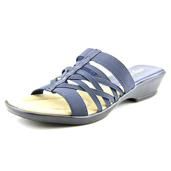 Easy Street Seaside W Open Toe Synthetic Wedge Sandal