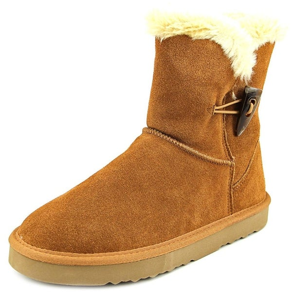 Style & Co Tiny Round Toe Suede Winter Boot