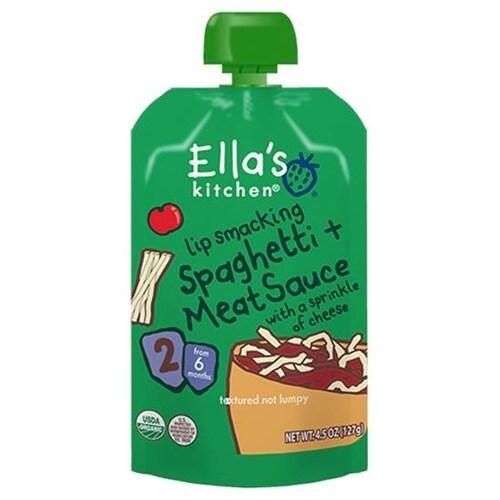 Ella's Kitchen - Lip Smacking Spaghetti & Meat Sauce ( 12 - 4.5 OZ)