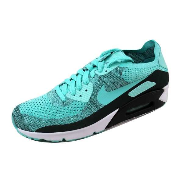Nike Men's Air Max 90 Ultra 2.0 Flyknit Hyper Turquoise 875943-301