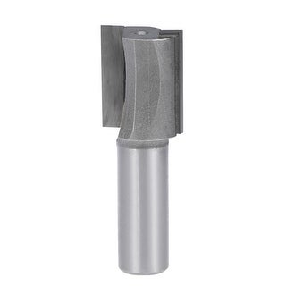 """Router Bit 1/2 Shank 7/8"""" Cutting Dia. 2 Straight Flutes Carbide Woodworking DIY"""