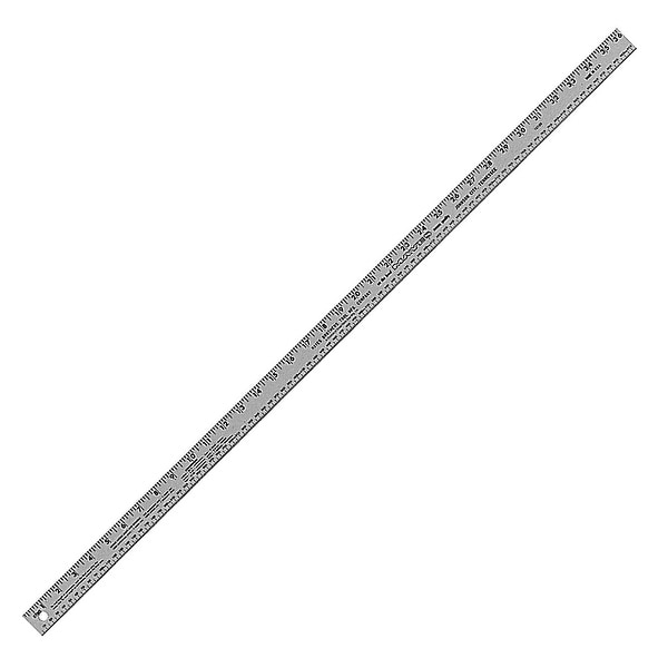 Mayes 10189 mayes 36 inch x 1 inch aluminum ruler