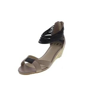 Kelsi Dagger Womens Paula Leather Heels Espadrilles - 9 medium (b,m)
