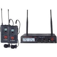 U-2100 LT-O (BAND A-B) UHF Dual 100-Channel Wireless Lavalier