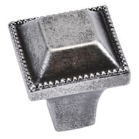Hickory Hardware P3503 Altair 1 Inch Square Cabinet Knob