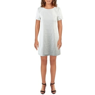 Link to Theory Womens Shift Dress Panel Short Sleeves Similar Items in Pants
