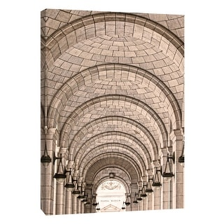 "PTM Images 9-105992  PTM Canvas Collection 10"" x 8"" - ""Union Station Arches"" Giclee Buildings and Landmarks Art Print on Canvas"