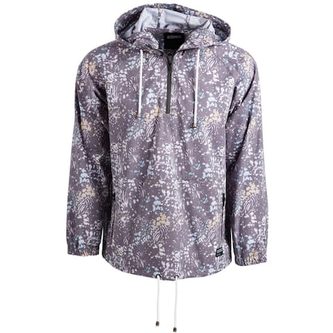 Ezekiel Mens Panther Hoodie Sweatshirt, Grey, Medium