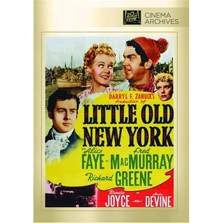 Little Old New York DVD Movie 1940