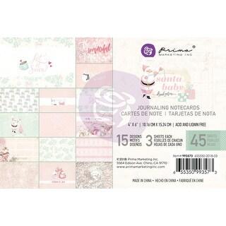 "Santa Baby Journaling Cards Pad 4""X6"" 45/Pkg-15 Designs/3 Each"