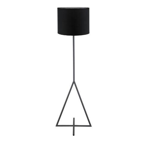 Aurelle Home Modern Geometric Tripod Floor Lamp