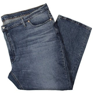 Link to Levi Strauss & Co. Mens Big & Tall Tapered Leg Jeans Denim Athletic Fit - Blue Similar Items in Pants