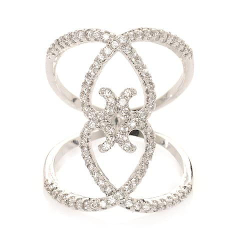 Silver Love Me Knot Ring