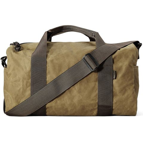 Filson Field Small Duffle Bag (Dark Tan Brown)