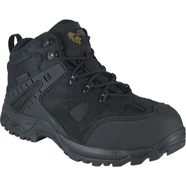 c03c18beafd Golden Retriever Footwear Men's 7568 Black Waterproof Nubuck/Mesh