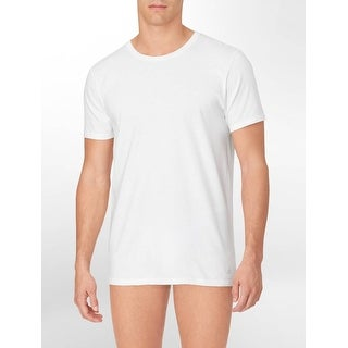 Calvin Klein Men's 3-Pack Cotton Classic Short Sleeve Crew Neck T-Shirt