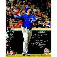 Matt Szczur Chicago Cubs Anthony Rizzo 2016 World Series HR Using Szczurs Bat 8x10 Photo wIts Gotta