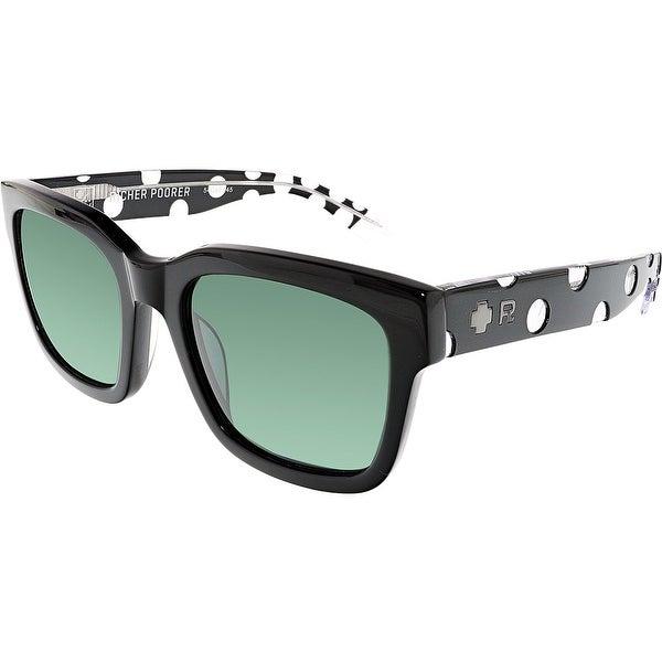 543d75e94d923 Shop Spy Trancas 183240293863 Black Square Sunglasses - Free ...