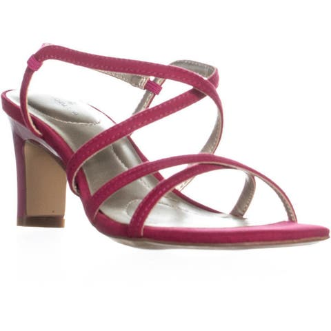 6f7e8b26db Bandolino Obexx Heeled Strappy Sandals, Dark Pink. Was. $39.99. $6.00 OFF.  Sale $33.99